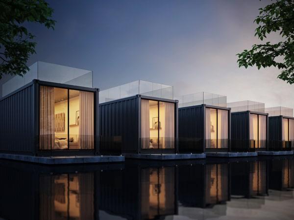Fondations Maison Container